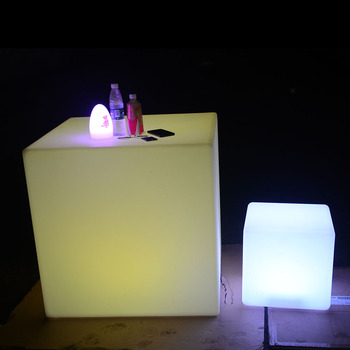 led cube chairs for adult wedding event illuminated led light cube seat chair lighting