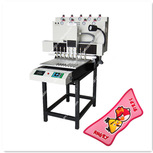 20000 pcs per day custom PVC keyrings make machine