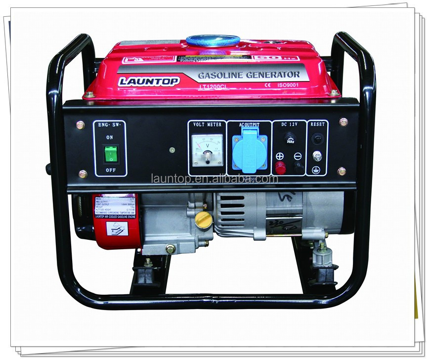 Low Price Small Home Use 1000w Gasoline Generator For Sale
