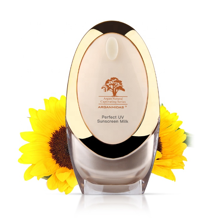 Wholesale Private Label Oil Free Organic Waterproof Long Lasting <strong>Sunscreen</strong> SPF 50+ PA+++