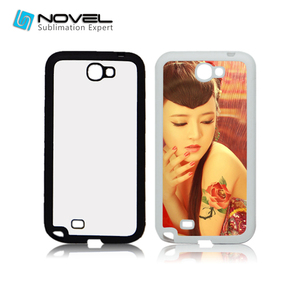 For Galaxy Note 2 N7100 Sublimation 2D Cell Phone Housing Blank Phone Case