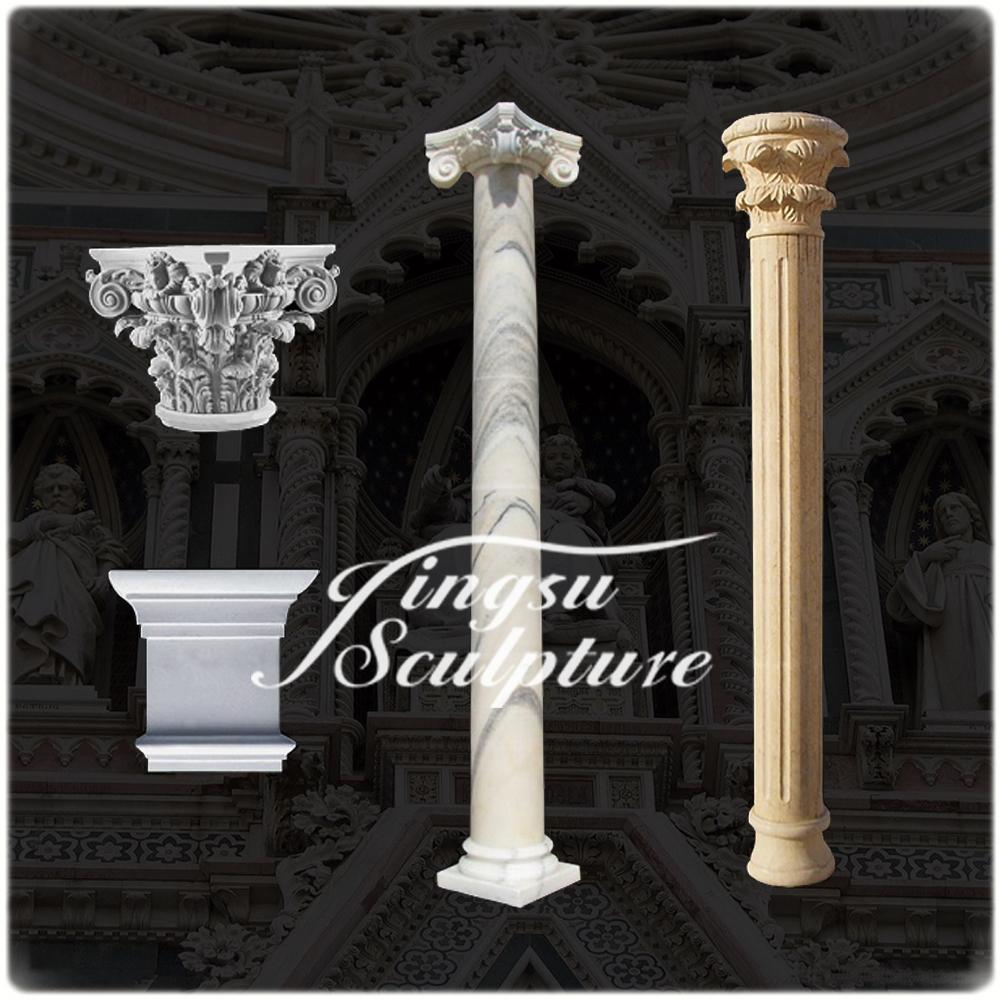 Decorative concrete pillars iron blog for Decorative column