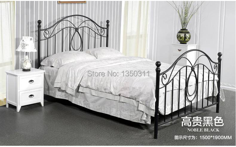 Compare Prices on Double Iron Bed- Online Shopping/Buy Low
