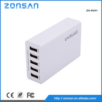 mobile phone accessories 5 USB port 8A USB travel charger multi port usb chargers