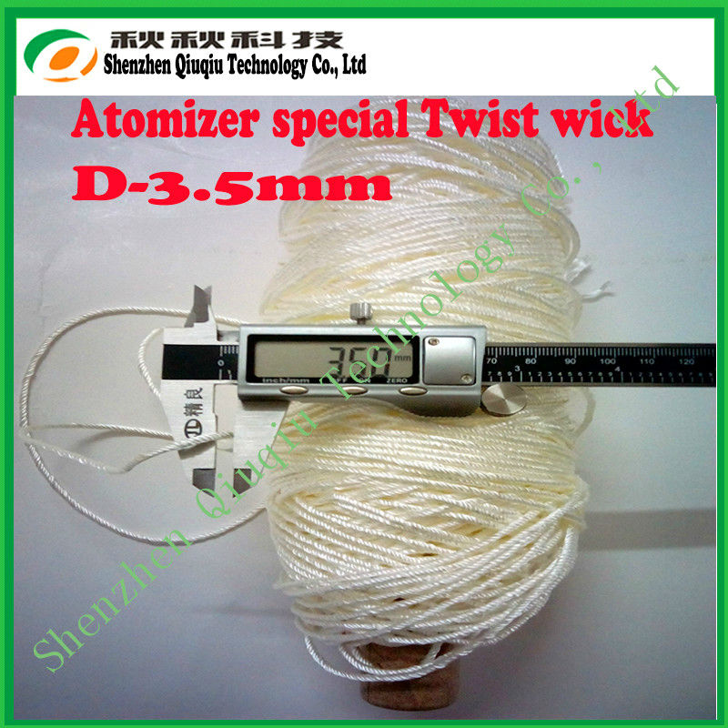 Selling Crazy!!High quality twist&braid silica wick for e-cigarettes with different size,popular in Malaysia