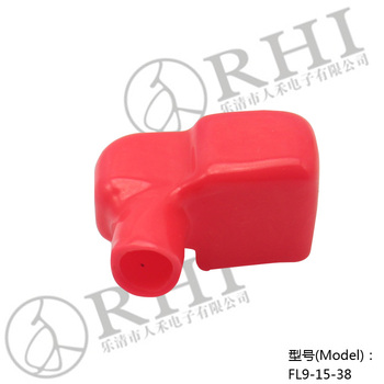 electrical plug plastic cover Wire battery insulation cap