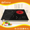 Kitchen Appliances 3 Cooking Zones Sensor Touch Smart Induction And Infrared Cooker