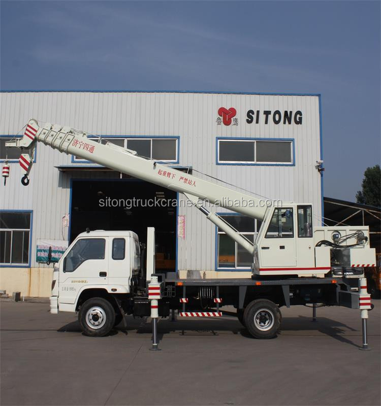10 Ton Cargo Truck Crane with Brand New Items,10 Ton Truck Mounted Mobile Crane