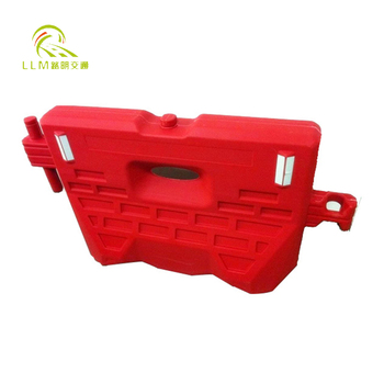 Factory price 1500*920mm road safety HDPE water filled road barrier