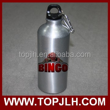 600 ml travel sport canteen aluminum water bottle