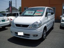 2001 NISSAN SERENA LIMITED EDITION /Van/ Used car From Japan / ( bl0018 )