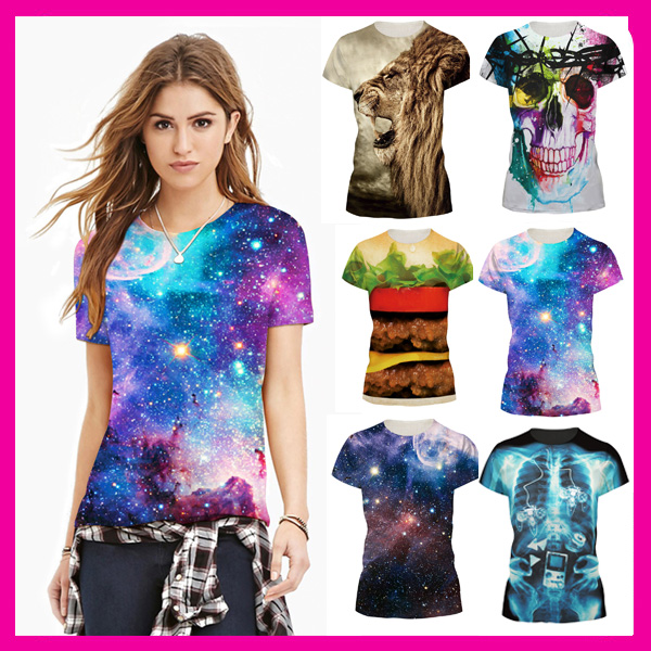 Custom printing polo shirts 3D sublimation printed t shirt printing in china wholesale