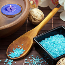 Private label bath salt dead sea salt for body and foot care