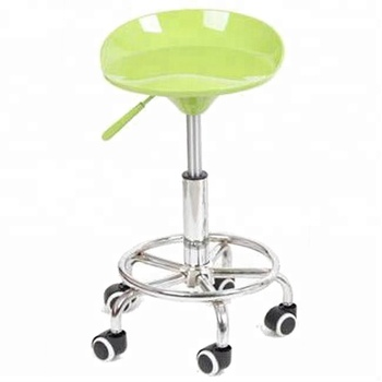 Dining Pp Stool Bar Steel Chair Laboratory Room Lift Height Adjule Stools With Wheels