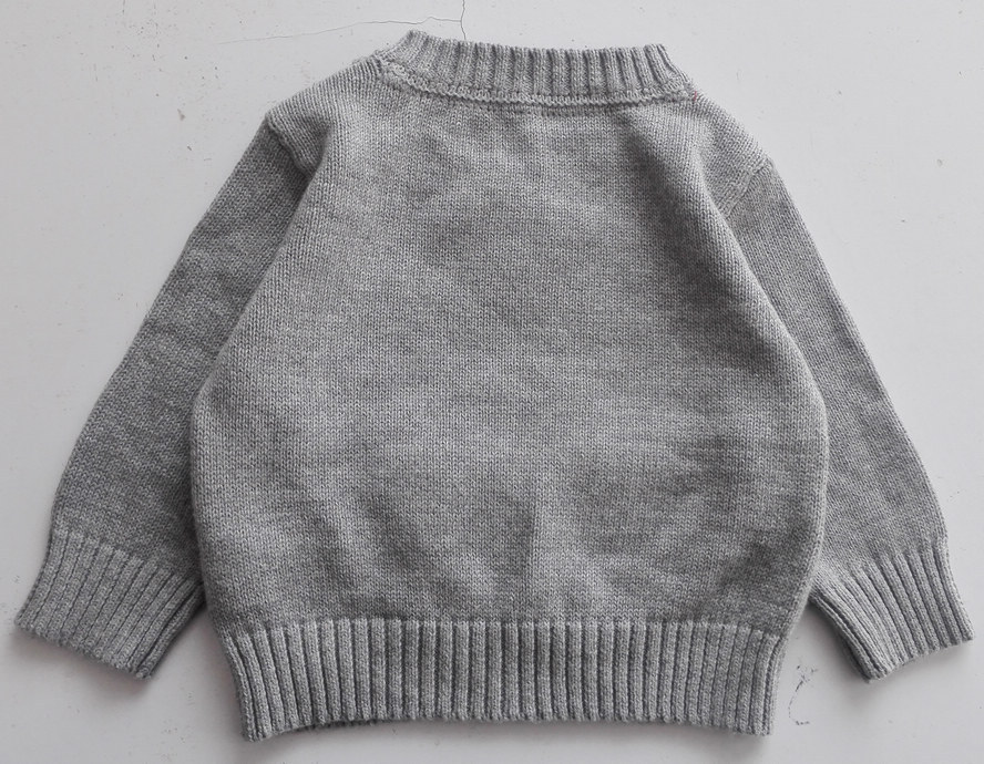Wholesale Knitting Patterns Kids Sweater Design Christmas Pullover ...