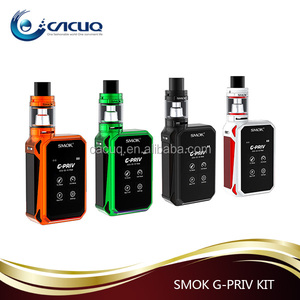 Amazing Vapor E Cig SMOK G-PRIV 220 Kit with Super Touch Screen,TFV8 Big Baby Tank,220w Kit from CACUQ
