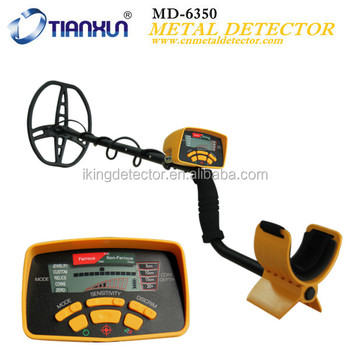 The high quality MD-6350 Best gold detector for treasure hunting