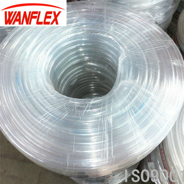 Factory Price Flexible Clear/Transparent Non Smell PVC Vinyl Tube With Good Quality