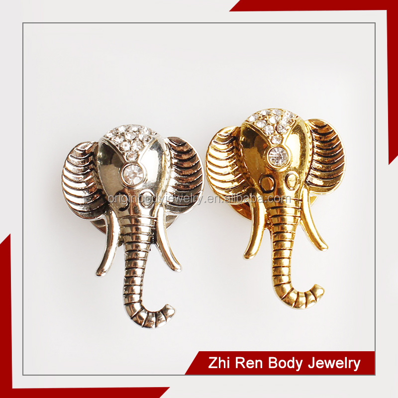 Hot Selling Surgical steel Elephant body piercing jewellery