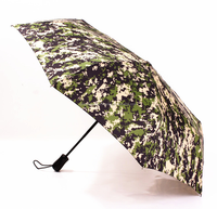21 inch Automatic Open Close outside full printed folding umbrella