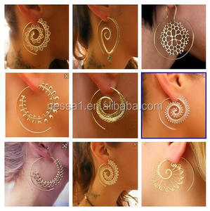 Fashion Cheap Gold Earrings For Women Wholesale NSER-0001
