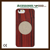Wooden case for cell phone, bamboo cell phone case
