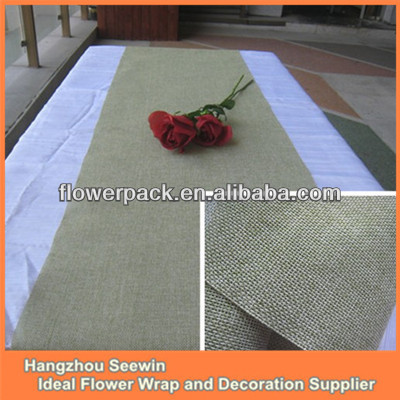 Artificial Jute Party Tablecloth