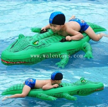 Attractive Inflatable Crocodile Rider,water Play,animal Rider