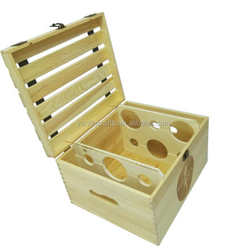 Cheap Wooden Wine Crates 6 Bottles Packing Solid Wood Wine Box For Sale Buy Wood Wine Box Wood Wine Crate 6 Bottle Wood Wine Box Product On