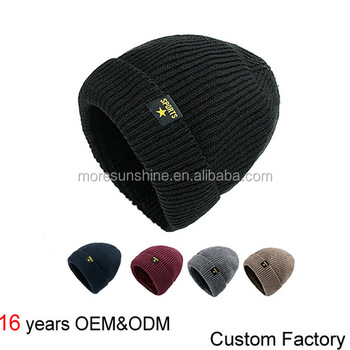 57f3e6adf24c5 Unisex Knitted Hat Custom Warm Sport Hat Ski Hat
