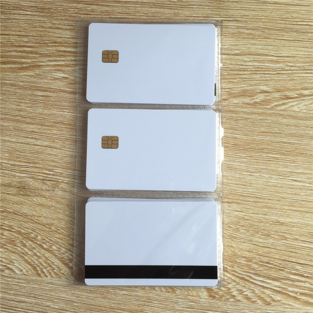 10pcs White Sle4442 Contact Chip Pvc Smart Card Back To Search Resultssecurity & Protection Ic/id Card