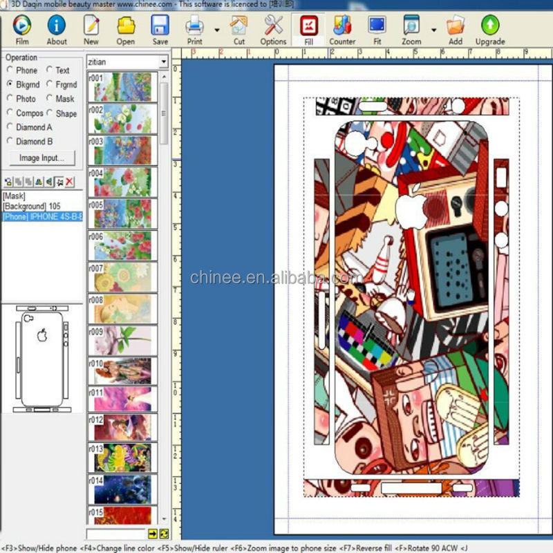 Newest Mobile Skin Templates Making D Sticker For Iphone Buy D - Sticker layout template
