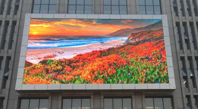 Super bright outdoor led display p10 module full color P10 video jumbo advertising screen