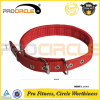 Adjustable PU Leather Buckle Nylon Dog Collar