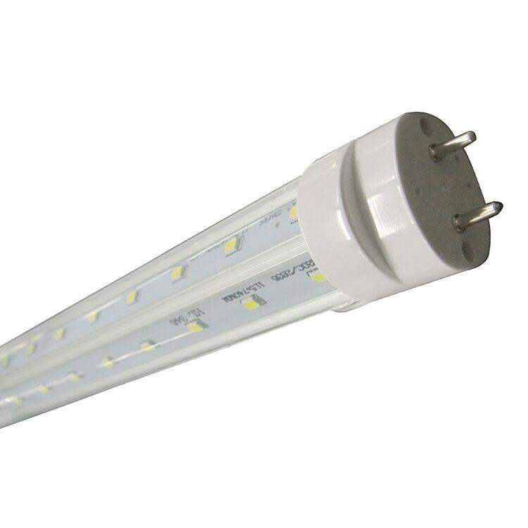 mounted led light fixtures 8 ft t8 high output led tube light 8ft led. Black Bedroom Furniture Sets. Home Design Ideas