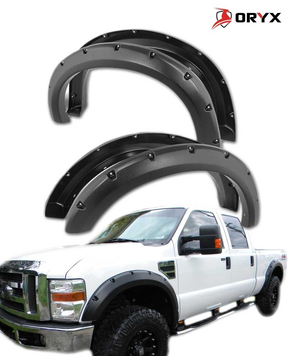 Buy Oryx Ff30082t Fender Flares Black Textured Glossy Fits Ford F250 F350 Super Duty 2008 2010 In Cheap Price On Alibaba Com