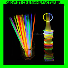colorful joyful glow sticks--glowing in the dark bracelet, chemical light sticks