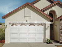 Steel garage door panels sale with pedestrian access door and windows