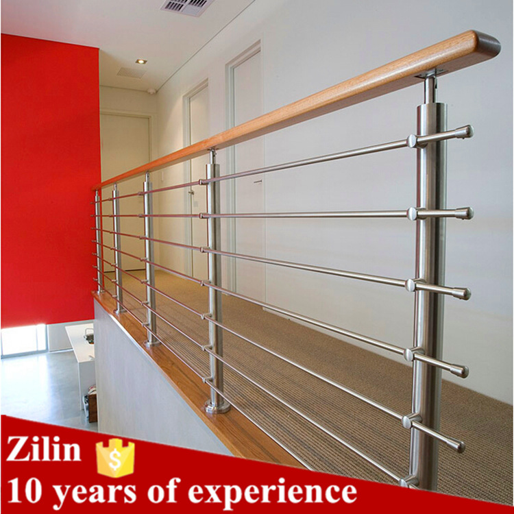 Modern House Design Stainless Steel Glass Railing For Balcony Railing Design