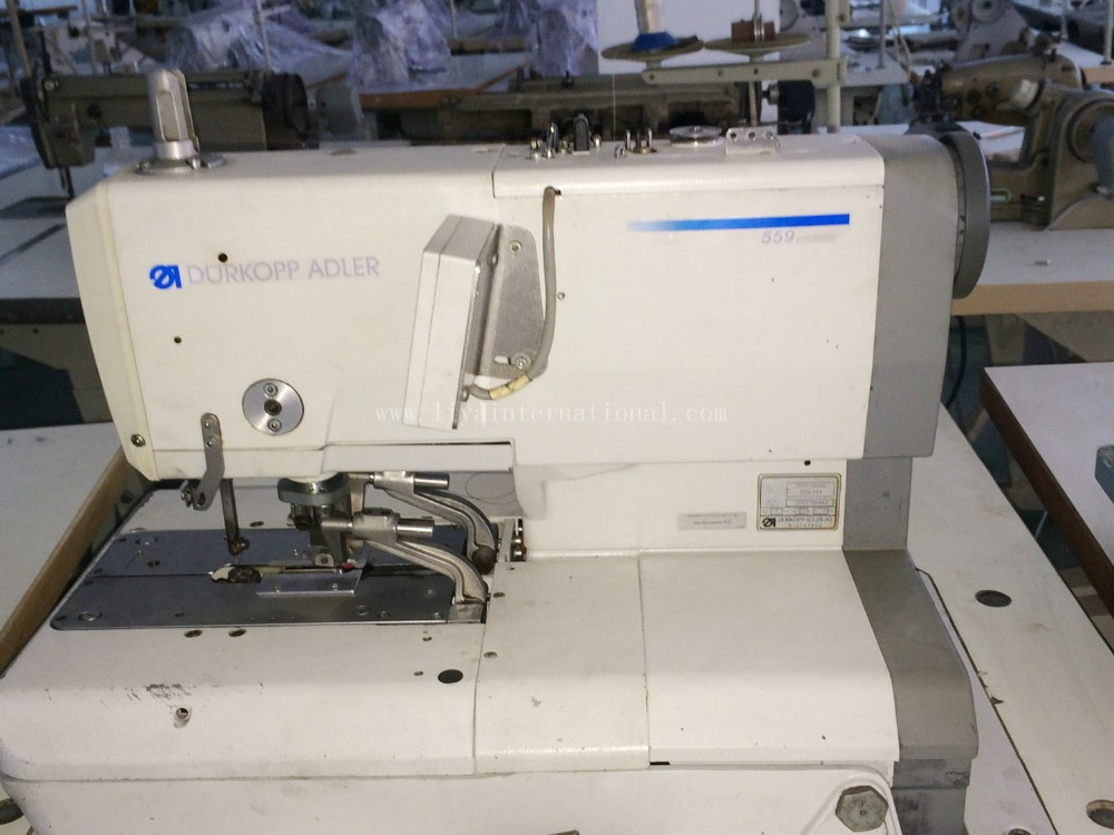 Second Hand Durkopp Adler 559 Automatic Eyelet Buttonhole Machine ...