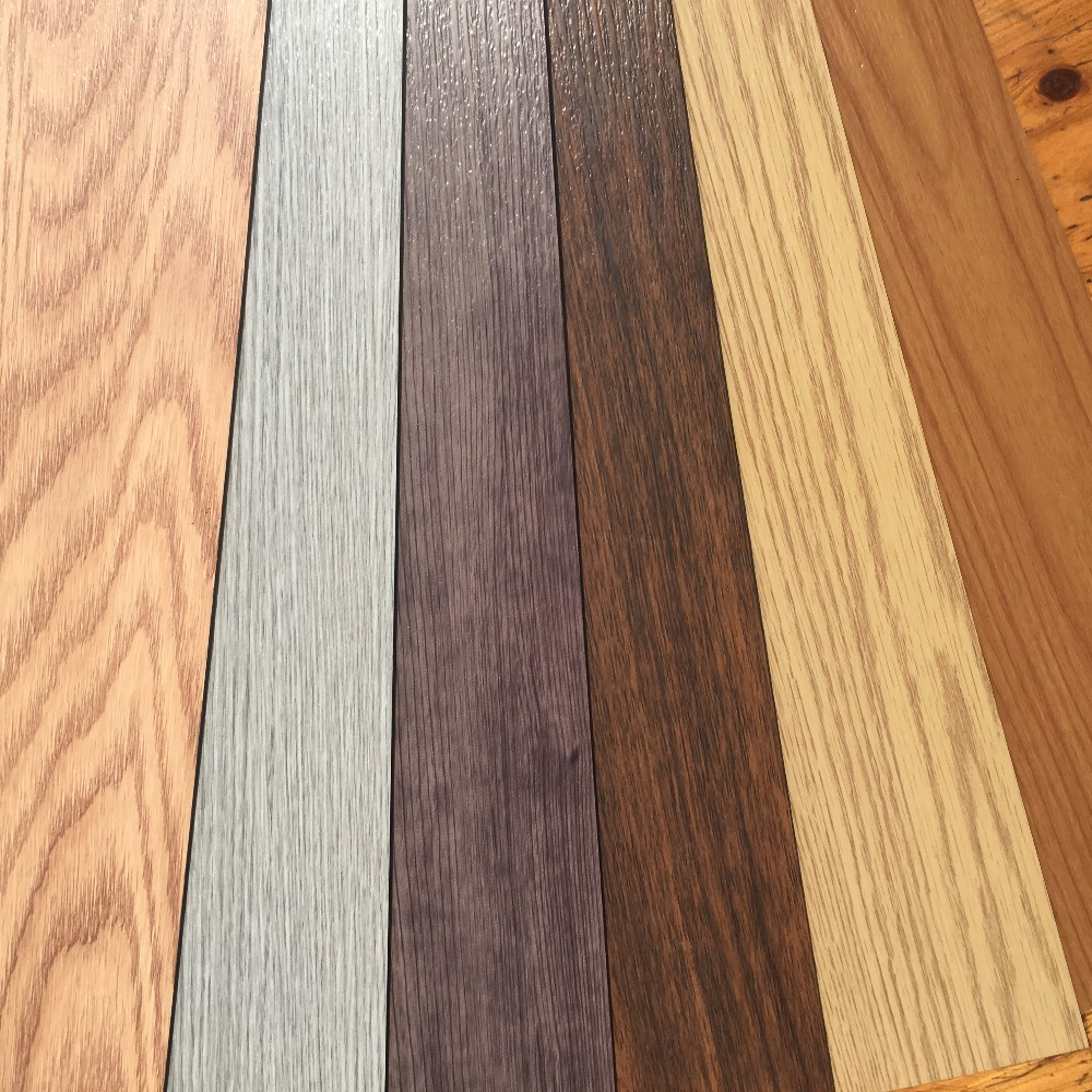 All color with UV Coating 2.0mm waterproof durable plank PVC vinyl <strong>flooring</strong>