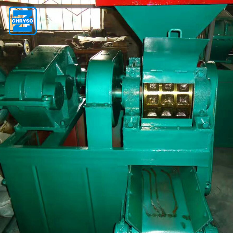factory price coconut shell powder charcoal briquette machine