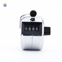 Best price mechanical 4 digit Metal hand tally counter