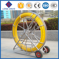 11mm*300m Cable tiger, Duct rodder and cable pulling device, Fiberglass push pull rod