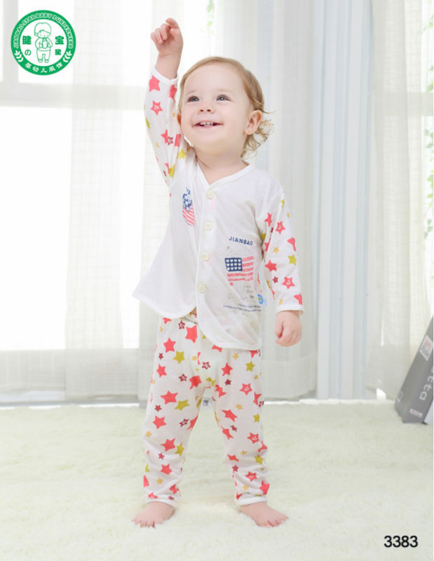 b6be045b04 100% Bamboo Cotton Baby Clothes,Baby Sleepwear Suit,Kids Pajamas ...