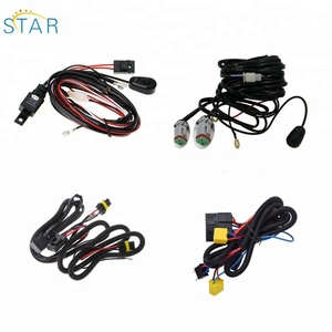 Supplier LED Headlight Led Work Light DT Connector Jeep Offroad Truck Led Light Bar Automotive Wiring Harness
