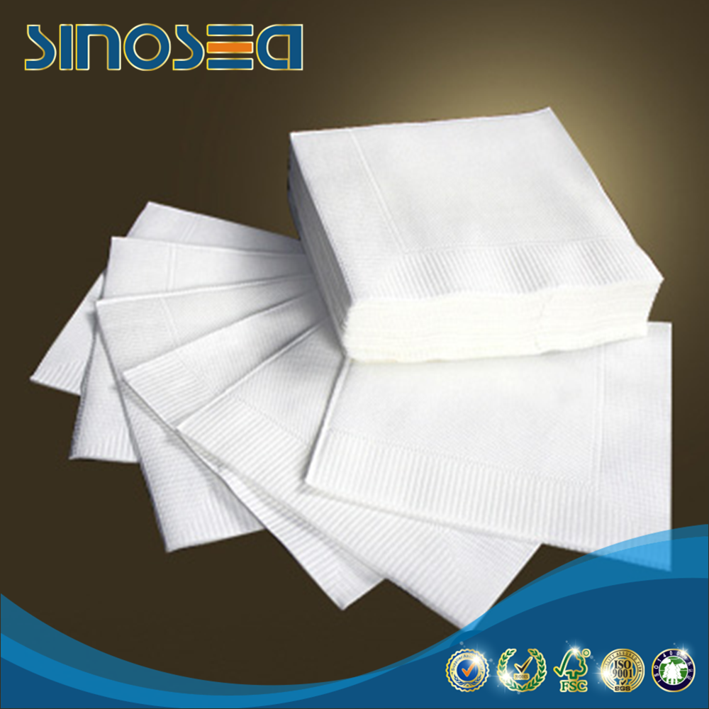 China suppliers soft pack paper napkin facial tissue