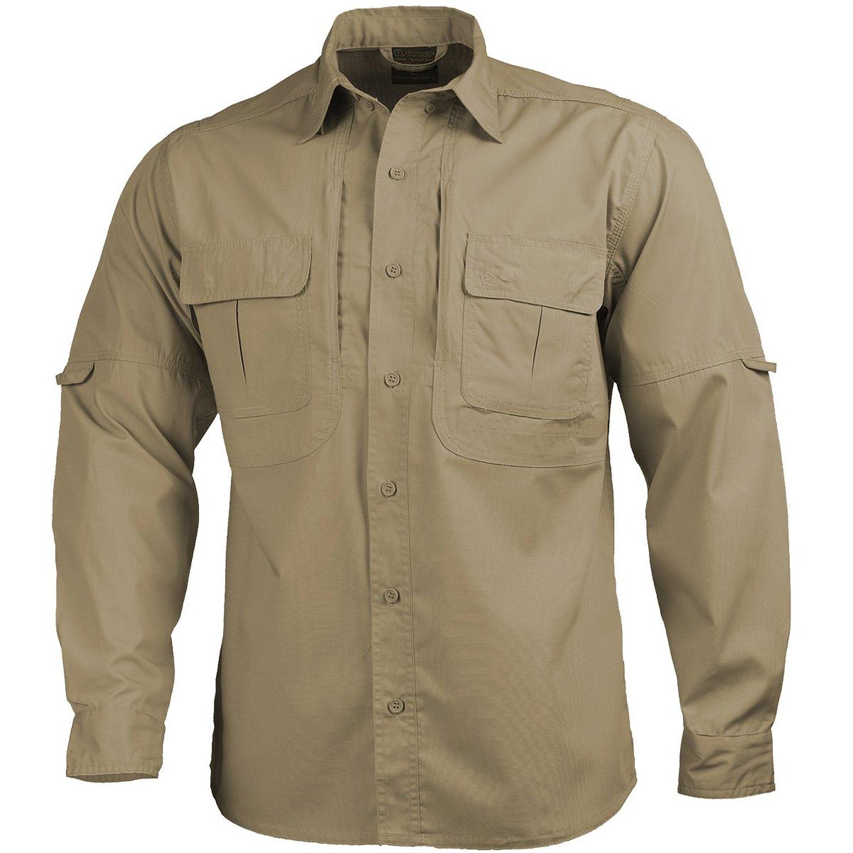 Pentagon Apollo Tac Fresh Activity Shirt Mens Base Layer Long Sleeve Wolf Grey