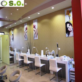 Fashion Luxury Beauty Salon Equipment Nail Retail Store Display