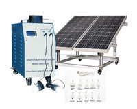 High efficiency home used battery backup 500W off-grid solar power system